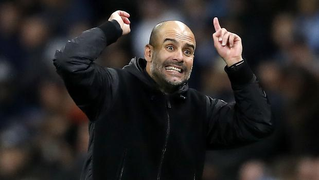 Manchester City are keen to keep their inspirational manager Pep Guardiola (Martin Rickett/PA)
