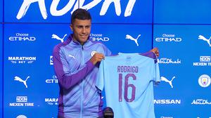 Rodri is relishing his move to Manchester City (Andy Hampson/PA)