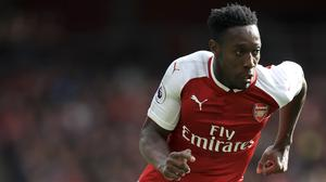 Danny Welbeck scored twice for the first time in a league game with Arsenal