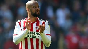 Sheffield United striker David McGoldrick received racist abuse on social media over the weekend (Nigel French/PA)