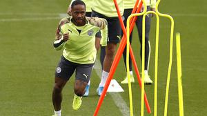 Raheem Sterling does not want to rush back into playing games (Martin Rickett/PA)