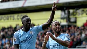 Benjamin Mendy (left) feels football can play an influential role in the battle against racism (Steven Paston/PA)