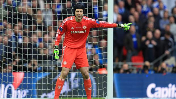 Petr Cech has made only four Barclays Premier League starts for Chelsea this season.