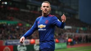 Wayne Rooney broke Sir Bobby Charlton's Manchester United club scoring record with his 250th goal to secure a draw at Stoke