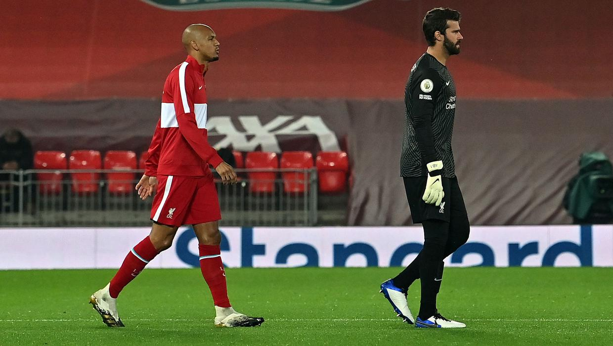 Alisson Becker and Fabinho to miss Watford game and complete quarantine in Spain