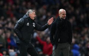 Solskjaer would not get drawn into the conversation about Pep Guardiola's club (Nick Potts/PA)