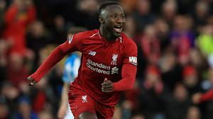 Liverpool midfielder Naby Keita has returned to training after missing two matches with a hip problem (Peter Byrne/PA)