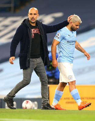It has been a difficult season for Sergio Aguero (right) (Alex Livesey/PA)