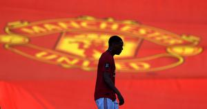 Anthony Martial scored his first Manchester United hat-trick in front of empty stands (Michael Regan/NMC Pool/PA)