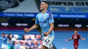 Phil Foden was outstanding as Manchester City thrashed Liverpool (Dave Thompson/NMC Pool)