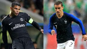 Could Thiago Silva and Antoine Griezmann be on their way to Arsenal? (Andrew Milligan/Adam Davy/PA)