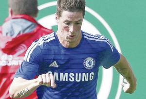 On the move: Fernando Torres will undergo a medical before going to AC Milan on a two-year loan