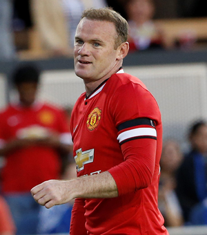 Hitman: Wayne Rooney will play up front for United