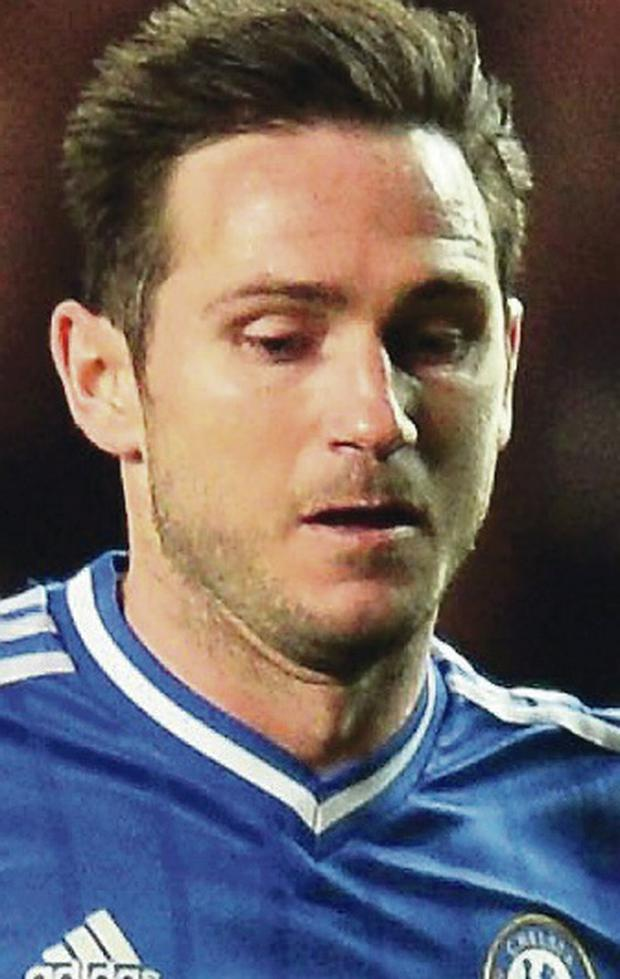 Top form: Frank Lampard is now feeling like a champion again