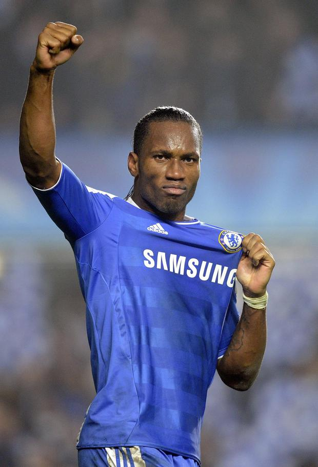 Returning hero: Didier Drogba has re-signed for London Blues
