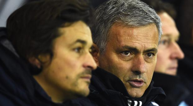 Stoking it up: Chelsea boss Jose Mourinho does not want selfish players in his squad