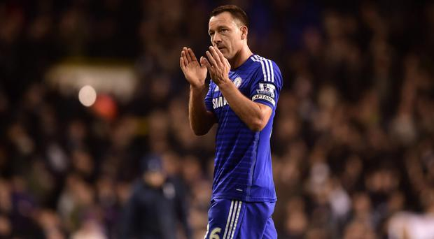 Hard done by: John Terry feels officials have ill-treated Blues