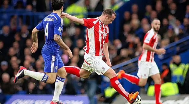 Long shot: Charlie Adam's goal against Chelsea was from 65 yards