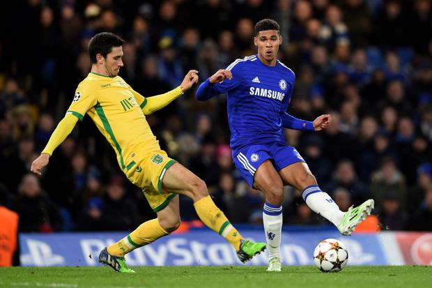 Young gun: Jose Mourinho has hailed the emergence of Ruben Loftus-Cheek for his Chelsea side