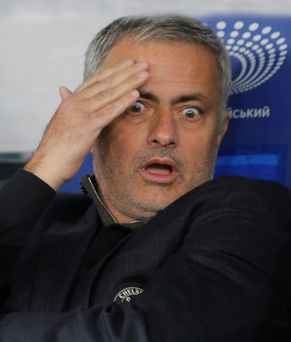 Shocking: Jose Mourinho has been left stunned by events at Chelsea this season