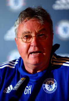 True blue: Guus Hiddink has told his players to perform