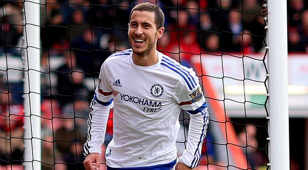 Eden Hazard 'is very happy at Chelsea'