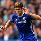 Bright light: Marcos Alonso impressed in Chelsea's victory