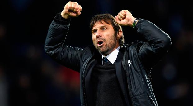 Positive outlook: Chelsea boss Antonio Conte