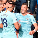 Instrumental: Ross Barkley scored his first Chelsea goal