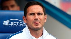 Out of tune: Frank Lampard