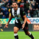 Perfect timing: Isaac Hayden