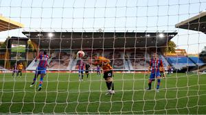 Daniel Podence opened the scoring for Wolves against Crystal Palace (Catherine Ivill/NMC Pool/PA)