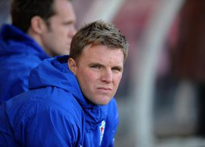 Eddie Howe began his first spell as Bournemouth boss during the 2008-09 campaign when the club were in League Two (PA)