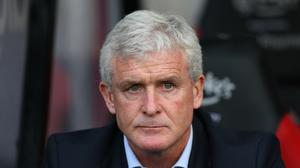 Stoke manager Mark Hughes wants the transfer window to close earlier