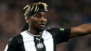Allan Saint-Maximin could be the buy of the season, according to Steve Bruce (Nick Potts/PA)