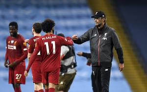 Jurgen Klopp (right) says Liverpool will come again (Peter Powell/NMC Pool/PA)