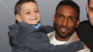 Bradley Lowery enjoyed his sixth birthday party alongside Sunderland forward Jermain Defoe