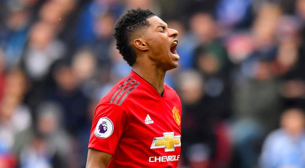 Marcus Rashford wants to return Manchester United to the top of the English game (Anthony Devlin/PA).