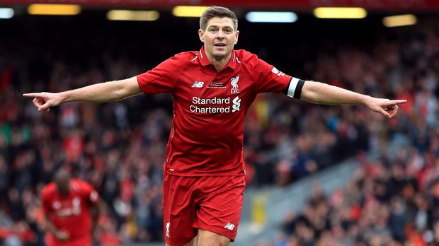 Steven Gerrard would like to be Liverpool manager one day (Peter Byrne/PA)