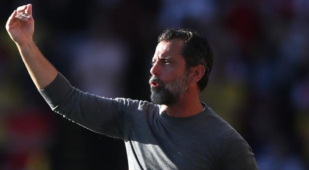 Quique Sanchez Flores is in his second spell as Watford manager (Nick Potts/PA)
