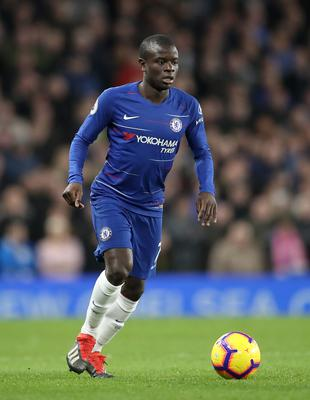 N'Golo Kante now has two goals for Chelsea this season (Adam Davy/PA)