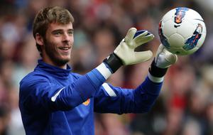 De Gea joined Manchester United as a 20-year-old in 2011 (Dave Thompson/PA)