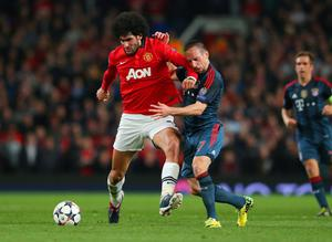 Disappointment: Marouane Fellaini has failed to make an impact at Old Trafford