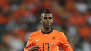 Eljero Elia, pictured playing for Holland, is a target for Southampton