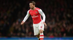Inter Milan have upped their interest in striker Lukas Podolski, pictured, according to Arsenal boss Arsene Wenger