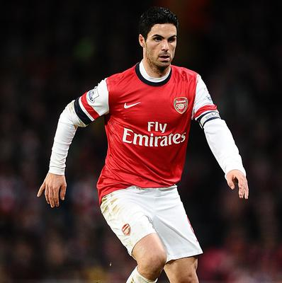 Mikel Arteta returned from suspension to play in Arsenal's win over Sunderland