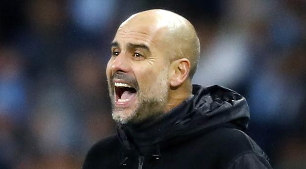 Pep Guardiola says historical and recent records will matter little in the Manchester derby (Martin Rickett/PA)