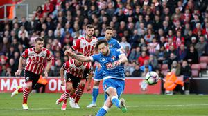 Bournemouth's Harry Arter missed from the penalty spot as they drew 0-0 at Southampton