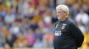 Steve Bruce led Hull to the club's first ever FA Cup final in May
