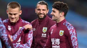 Jay Rodriguez wants to turn the Emirates into Burnley's happy place (Michael Regan/PA)